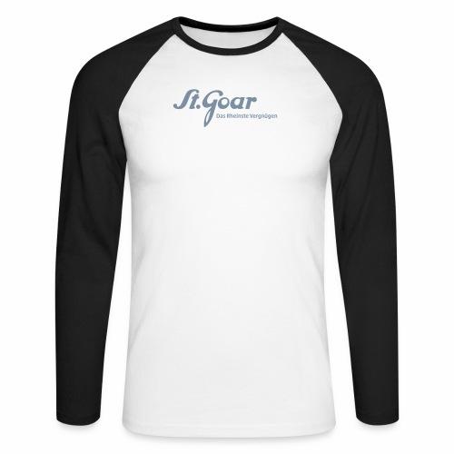 St. Goar – Das Rheinste Vergnügen - Männer Baseballshirt langarm
