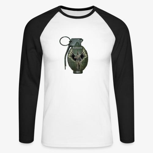 grenadearma3 png - Men's Long Sleeve Baseball T-Shirt
