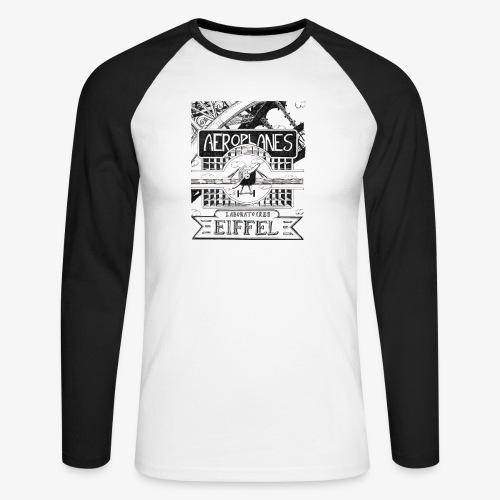 aeroplanesLE001 - T-shirt baseball manches longues Homme