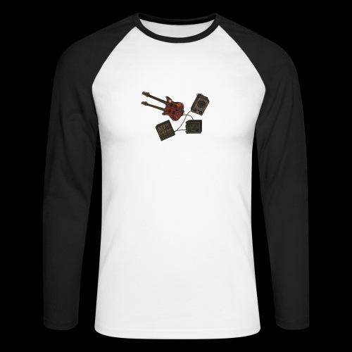 Music - Men's Long Sleeve Baseball T-Shirt