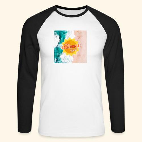 California Spirit Surfin - T-shirt baseball manches longues Homme