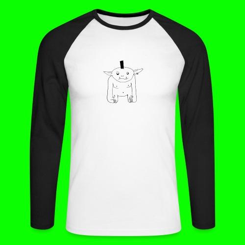 Grol - Men's Long Sleeve Baseball T-Shirt