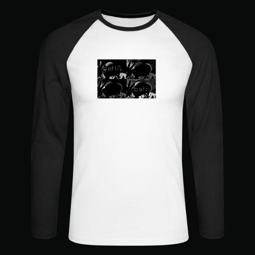 black bafti crew - Langærmet herre-baseballshirt