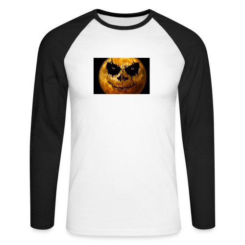 Halloween Mond Shadow Gamer Limited Edition - Männer Baseballshirt langarm