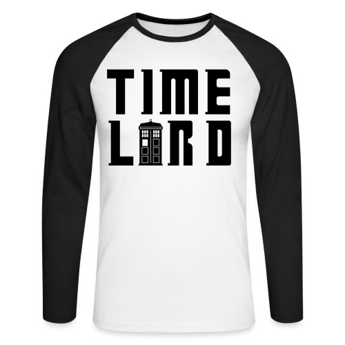 Time Lord - Men's Long Sleeve Baseball T-Shirt
