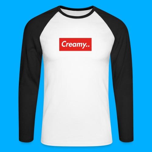 LIMITED EDITION Creamy... Shirts - Men's Long Sleeve Baseball T-Shirt