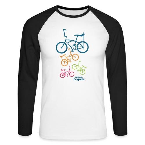 teenbike - T-shirt baseball manches longues Homme