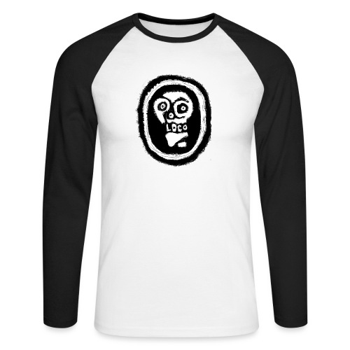 Poco Loco..its got a ring to it - Men's Long Sleeve Baseball T-Shirt