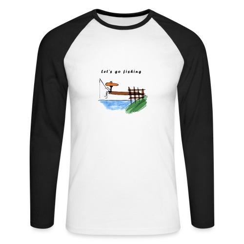 Let's go fishing - Men's Long Sleeve Baseball T-Shirt