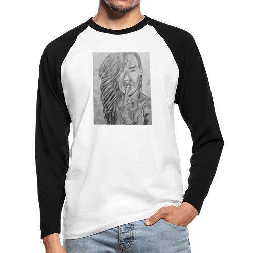 Jyrks_kunstdesign - Langærmet herre-baseballshirt