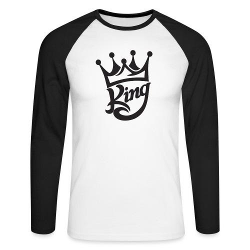 king - Men's Long Sleeve Baseball T-Shirt