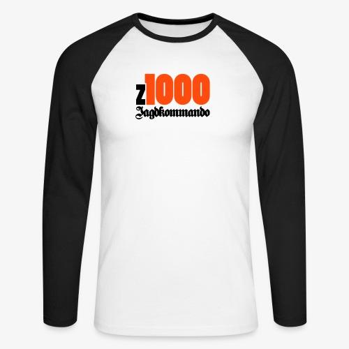 z1000 Jagdkommando - Männer Baseballshirt langarm