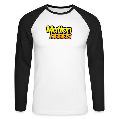 mths logo couleur 120dpi - Men's Long Sleeve Baseball T-Shirt