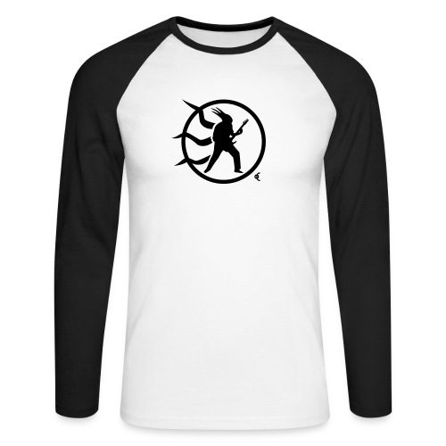 rock guitar v10 - T-shirt baseball manches longues Homme