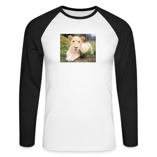 10536 2Cmoomba groot - Men's Long Sleeve Baseball T-Shirt
