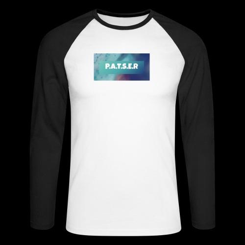 patser - Mannen baseballshirt lange mouw