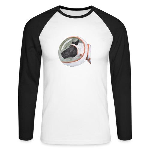spacepony lena - Mannen baseballshirt lange mouw