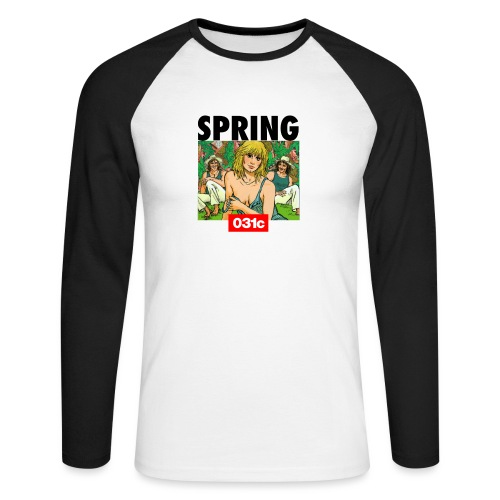 spring - T-shirt baseball manches longues Homme