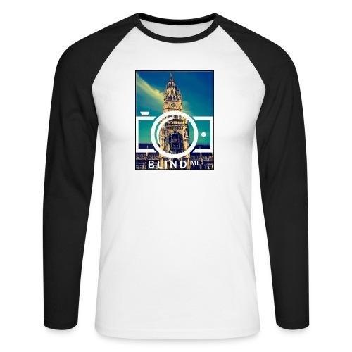 Offical BlindMe - Men's Long Sleeve Baseball T-Shirt