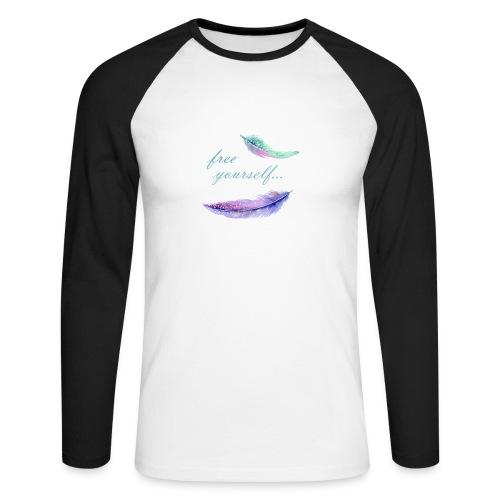 free yourself - Männer Baseballshirt langarm