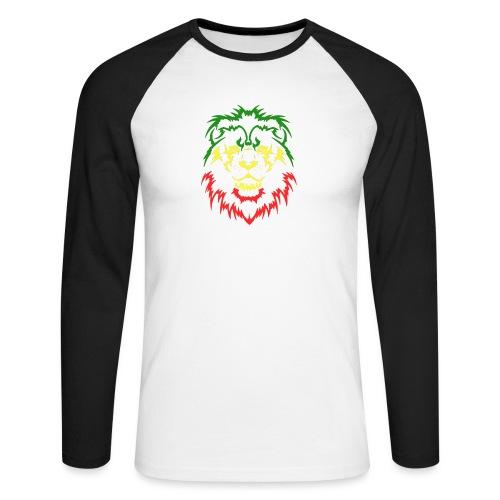 KARAVAAN Lion Reggae - Mannen baseballshirt lange mouw