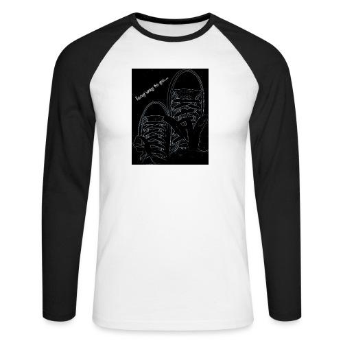 Long way to go - Men's Long Sleeve Baseball T-Shirt