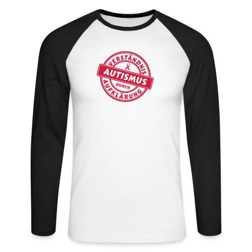 Verständnis durch Aufklärung - Männer Baseballshirt langarm