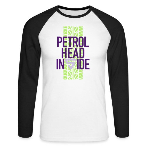 Petrolhead inside - T-shirt baseball manches longues Homme