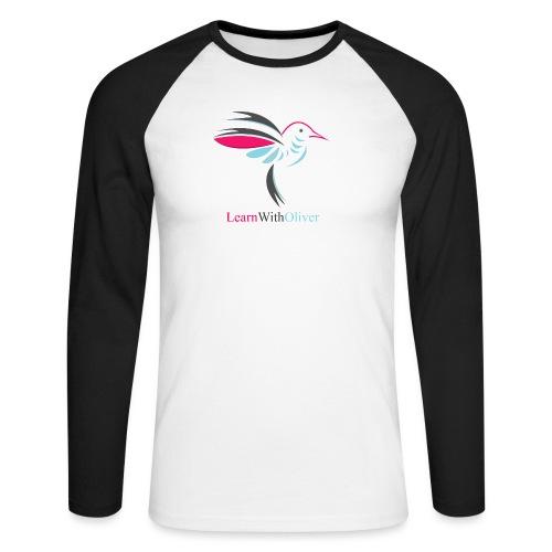 learnwitholiver - Men's Long Sleeve Baseball T-Shirt