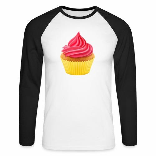 Cupcake - Männer Baseballshirt langarm