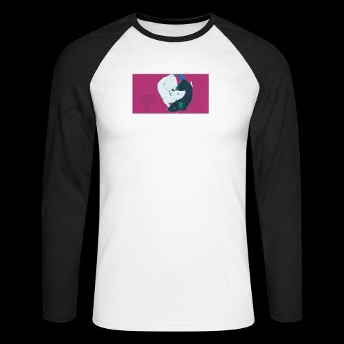 ABRAKADABRA by Wicca Cult - Männer Baseballshirt langarm