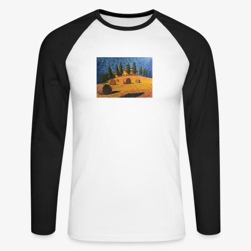 tuscany - Men's Long Sleeve Baseball T-Shirt
