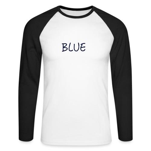 BLUE - Mannen baseballshirt lange mouw