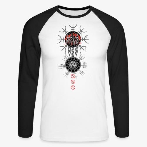 Pagan - T-shirt baseball manches longues Homme