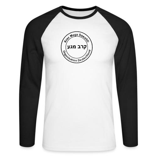 Krav Maga Sawah Organisation Deutschland - Männer Baseballshirt langarm