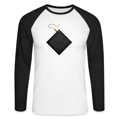 Phantom Launchpad // Kaskobi - Men's Long Sleeve Baseball T-Shirt