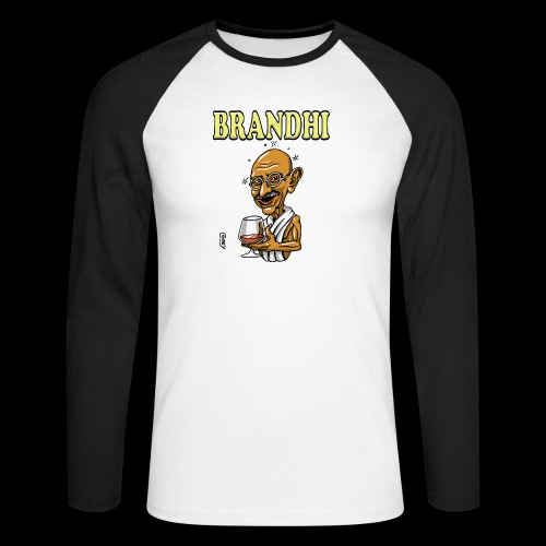 Brandhi - Men's Long Sleeve Baseball T-Shirt