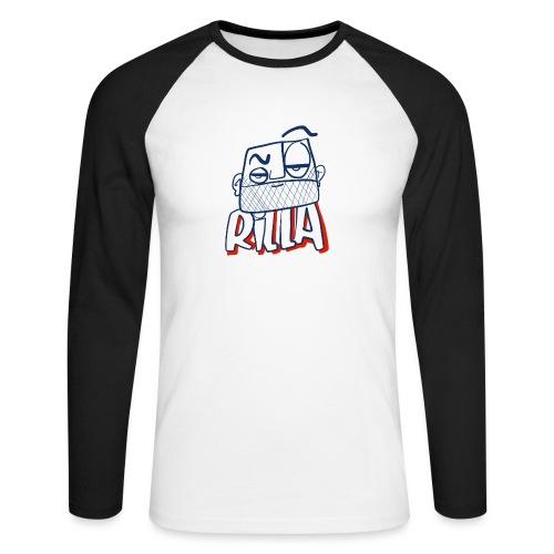 Rilla bad 1 - Mannen baseballshirt lange mouw