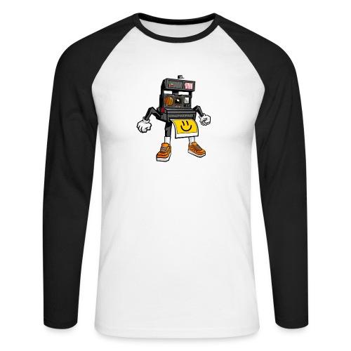 Appareil Polaroid 660 - T-shirt baseball manches longues Homme