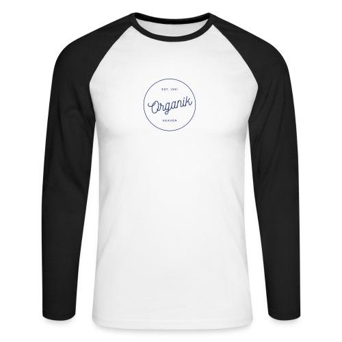 Organic - Maglia da baseball a manica lunga da uomo