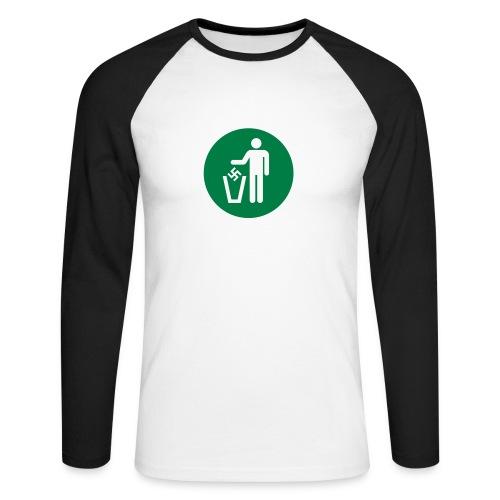 Umweltschutz ist Heimatschutz - Männer Baseballshirt langarm