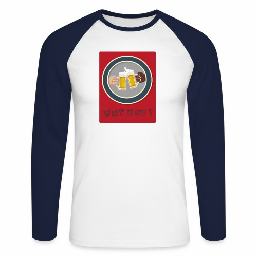 WHY NOT ? (WN) - T-shirt baseball manches longues Homme
