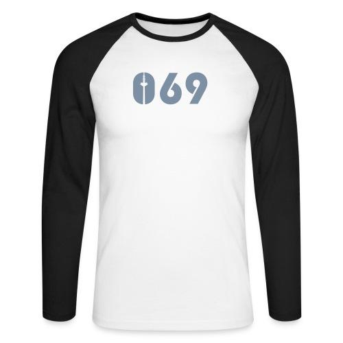 069 - Männer Baseballshirt langarm