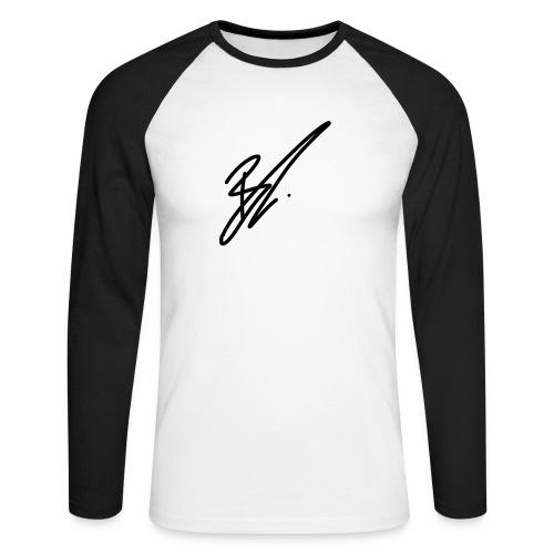 coole moderneres Zeichen zu einem super preis - Männer Baseballshirt langarm