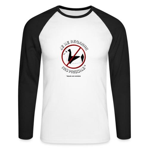 antiprisonbreakspread - T-shirt baseball manches longues Homme