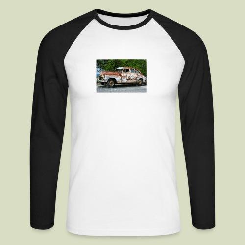 RustyCar - Miesten pitkähihainen baseballpaita