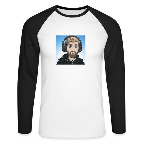 KalzAnimated - Langærmet herre-baseballshirt