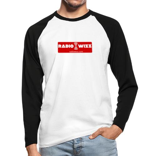 Radio Wizz - Men's Long Sleeve Baseball T-Shirt