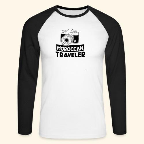 Moroccan Traveler - T-shirt baseball manches longues Homme