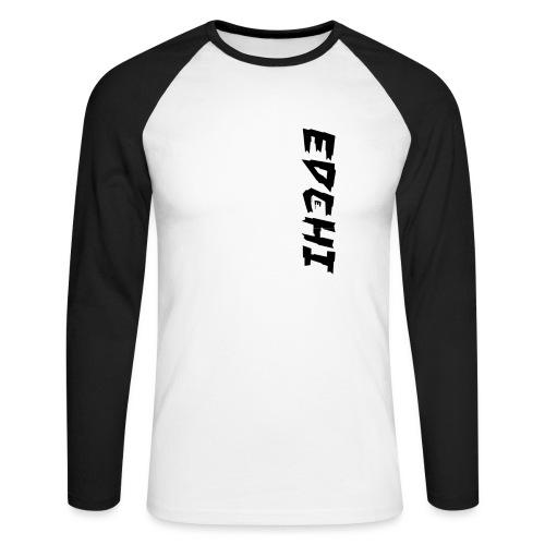 Edchi - Langærmet herre-baseballshirt